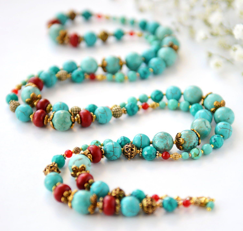 Ожерелья из Натурального Камня
