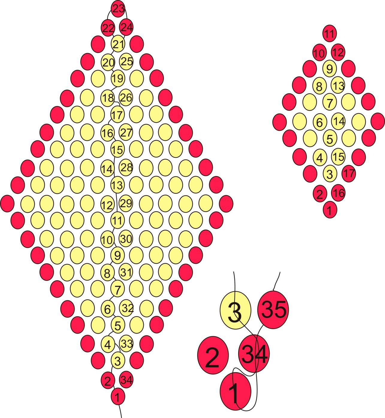 Серьги из бисера своими руками - мастер классы для рукодельниц