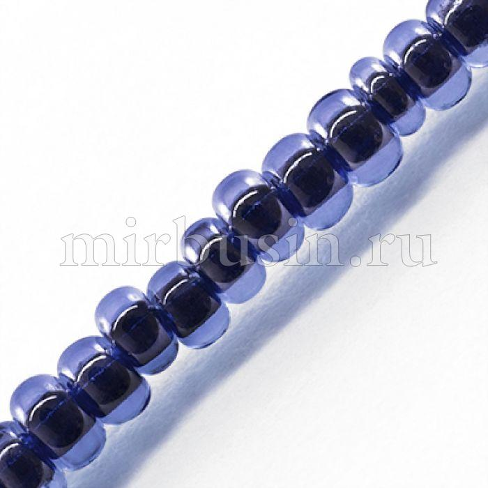 Бисер Китайский 12/0, Неоновый Окрашенный Внутри (LIC), Цвет: Синий