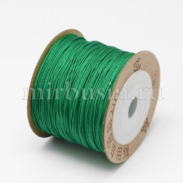 Шнур Нейлоновый, Цвет: Зеленый, Размер: Диаметр 0.6мм, (УТ100015790)