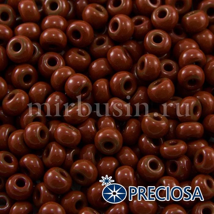 Бисер 13600 Чешский Preciosa 6/0, Естественный Непрозрачный NO, Коричневый, Круглый, (УТ100015841)
