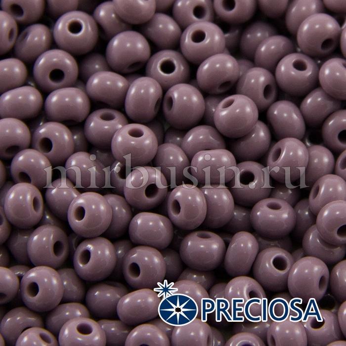 Бисер 23020 Чешский Preciosa 6/0, Естественный Непрозрачный NO, Фиолетовый, Круглый, (УТ100015843)