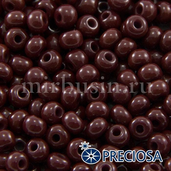 Бисер 93300 Чешский Preciosa 6/0, Естественный Непрозрачный NO, Коричневый, Круглый, (УТ100015867)