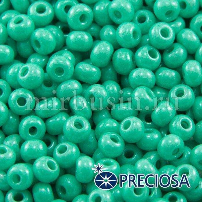 Бисер 16358 Чешский Preciosa 6/0, Солгель Окрашенный SDC, Зеленый, Круглый, (УТ100015881)