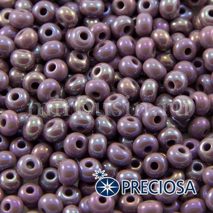Бисер 24020 Чешский Preciosa 6/0, Непрозрачный Радужный OL, Фиолетовый, Круглый, (УТ100015887)