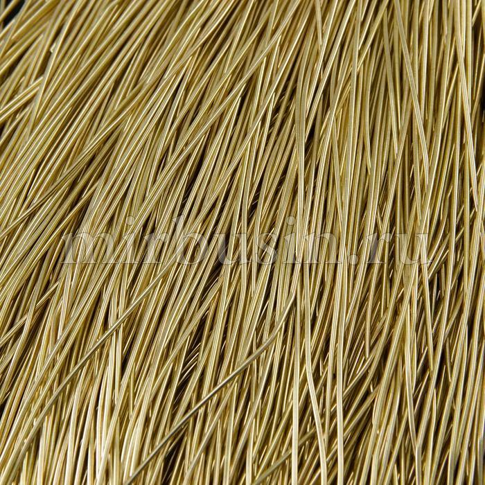 Канитель Мягкая 1мм, Цвет: Светлое Золото M22, отрезки не менее 8см, около 200см/5г, (УТ100015979)