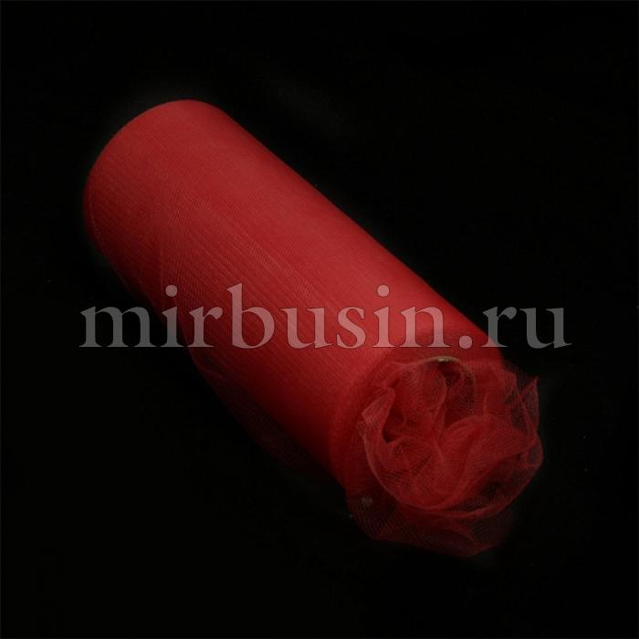Фатин Нейлон, Цвет: 08 Темно-красный, Ширина 150мм, катушка 22,86м (УТ100017111)
