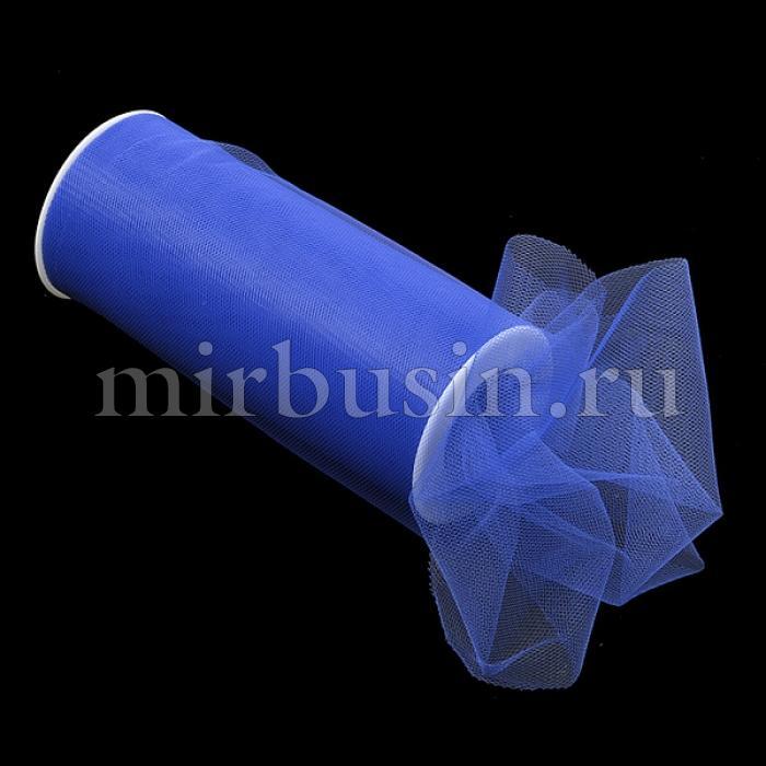 Фатин Нейлон, Цвет: 21 Темно-синий, Ширина 150мм, катушка 22,86м (УТ100017116)