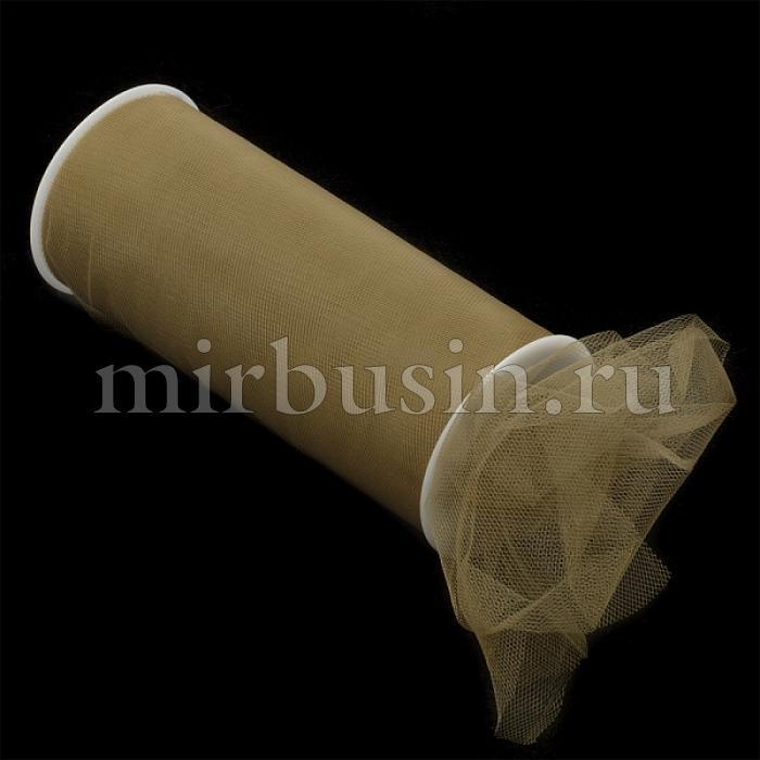 Фатин Нейлон, Цвет: 39 Темно-коричневый, Ширина 220мм, катушка 22,86м (УТ100017133)