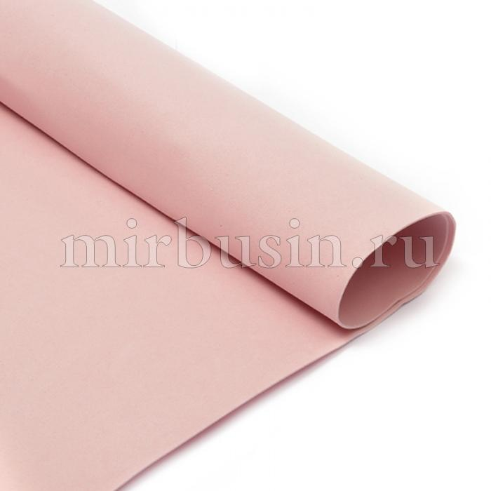 Фоамиран в листах, Артикул A027, Цвет: Светло-розовый, Толщина: 1мм, Размер: 50х50см, (УТ100017150)