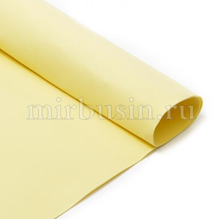 Фоамиран в листах, Артикул A031, Цвет: Шампань, Толщина: 1мм, Размер: 50х50см, (УТ100017151)