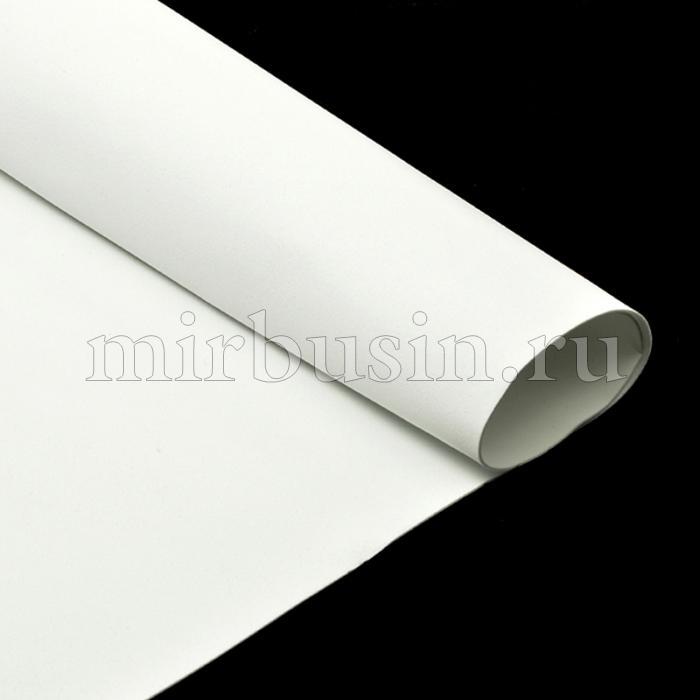 Фоамиран в листах, Артикул A036, Цвет: Белый, Толщина: 1мм, Размер: 50х50см, (УТ100017152)