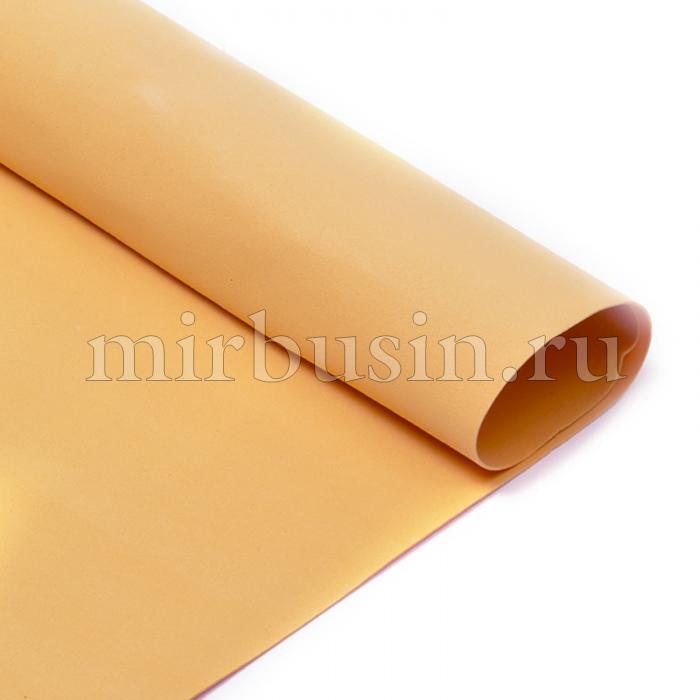 Фоамиран в листах, Артикул A037, Цвет: Светло-коричневый, Толщина: 1мм, Размер: 50х50см, (УТ100017153)