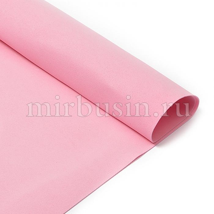 Фоамиран в листах, Артикул N023, Цвет: Розовый, Толщина: 1мм, Размер: 50х50см, (УТ100017164)