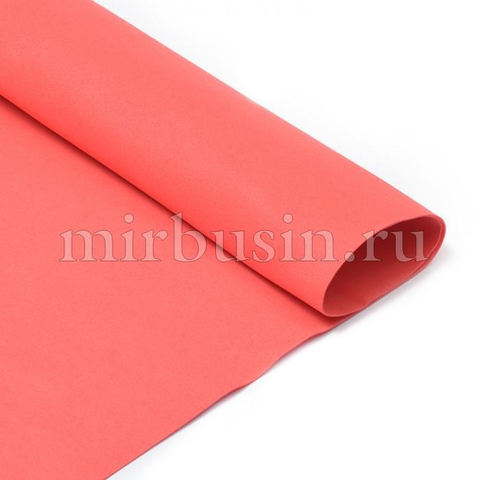 Фоамиран в листах, Артикул N029, Цвет: Красный, Толщина: 1мм, Размер: 50х50см, (УТ100017168)