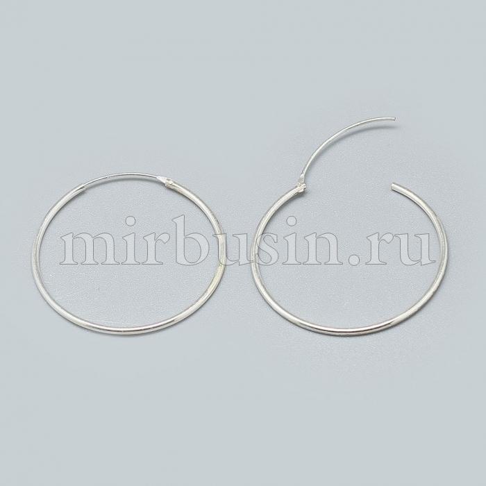 Серебро 925 Швензы-Кольца, Размер: Диаметр: 42мм, Пин: 0.7мм, (УТ100024504)