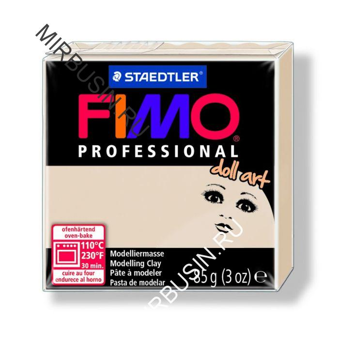 Полимерная Глина, FIMO Professional Doll Art, №44 (85г), Цвет: Полупрозрачный Бежевый, (УТ100013600)